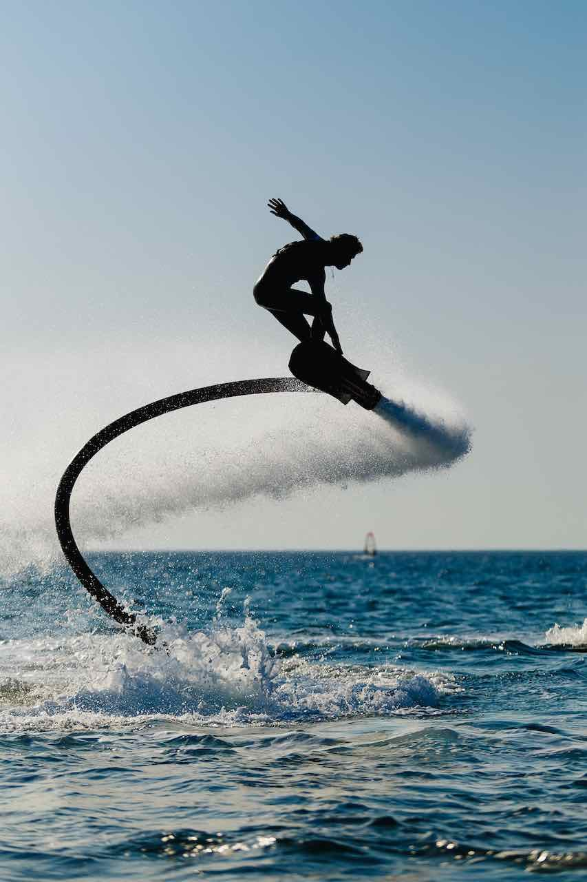 Flyboard and wakeboard Flies