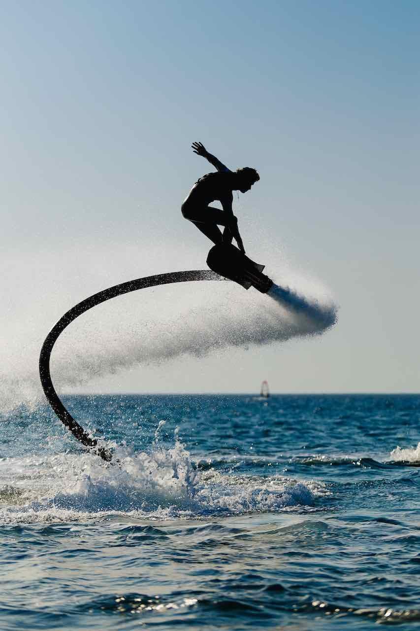 Vliegplank en wakeboard Vlieg