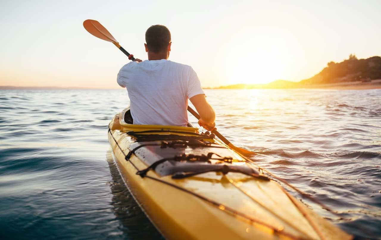 Bóias float e paddle